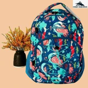 HIGH SIERRA Nora 2.0 Teal Mermaid Large Backpack